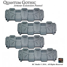 Armoured Wall Shield set (x 4)